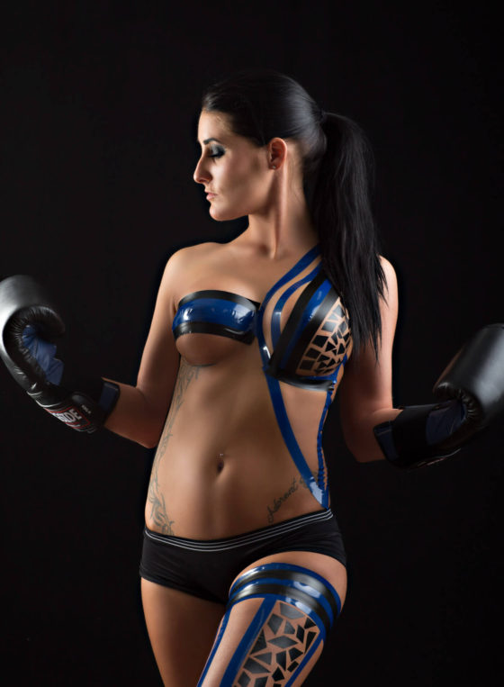 Kylee's Boxing Outfit