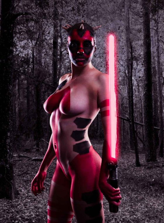 Sith cosplay shoot with Mandy Havoc